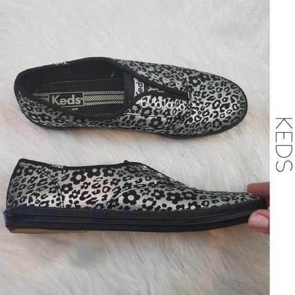 310f2d47df4 Keds Shoes - KEDS Champion Metallic Floral Leopard Sneakers 7.5